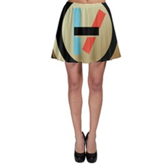Twenty One Pilots Shield Skater Skirt