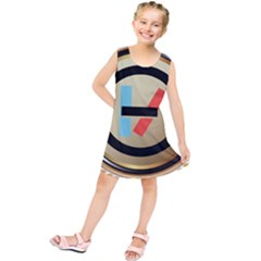 Twenty One Pilots Shield Kids  Tunic Dress