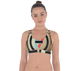 Twenty One Pilots Shield Cross String Back Sports Bra