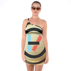 Twenty One Pilots Shield One Soulder Bodycon Dress