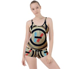 Twenty One Pilots Shield Boyleg Tankini Set