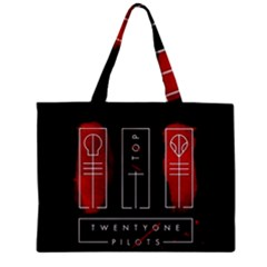 Twenty One Pilots Zipper Mini Tote Bag