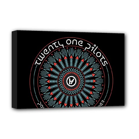 Twenty One Pilots Deluxe Canvas 18  X 12