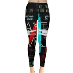 Twenty One Pilots Stay Alive Song Lyrics Quotes Leggings
