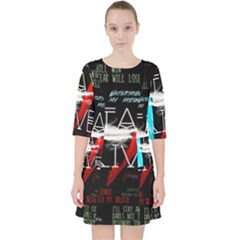 Twenty One Pilots Stay Alive Song Lyrics Quotes Pocket Dress
