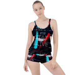 Twenty One Pilots Stay Alive Song Lyrics Quotes Boyleg Tankini Set