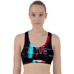 Twenty One Pilots Stay Alive Song Lyrics Quotes Back Weave Sports Bra