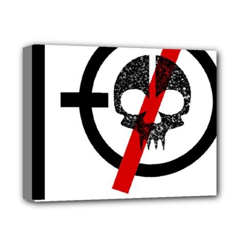 Twenty One Pilots Skull Deluxe Canvas 14  X 11