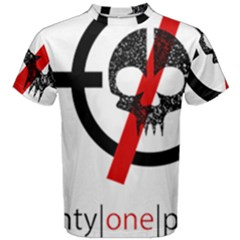 Twenty One Pilots Skull Men s Cotton Tee