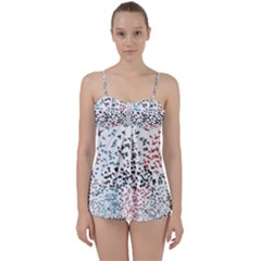 Twenty One Pilots Birds Babydoll Tankini Set