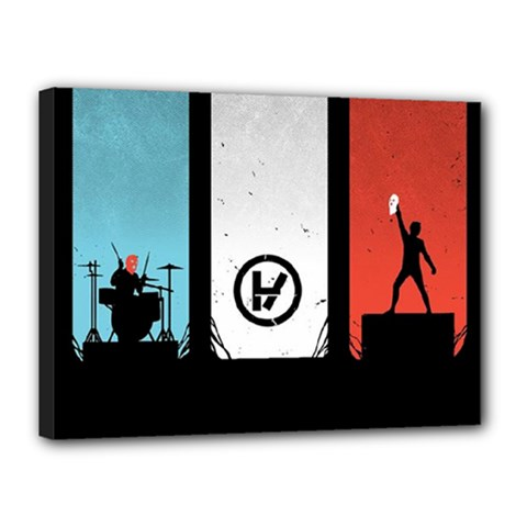 Twenty One 21 Pilots Canvas 16  X 12