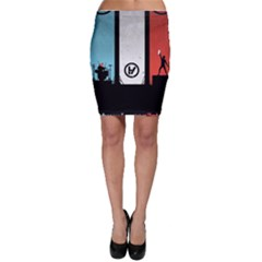 Twenty One 21 Pilots Bodycon Skirt