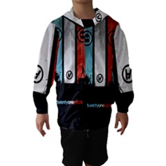 Twenty One 21 Pilots Hooded Wind Breaker (kids)