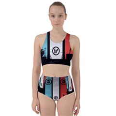 Twenty One 21 Pilots Racer Back Bikini Set