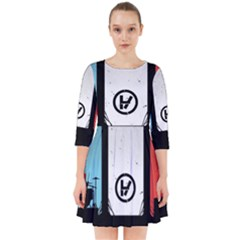 Twenty One 21 Pilots Smock Dress