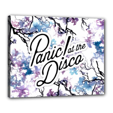 Panic! At The Disco Canvas 20  X 16