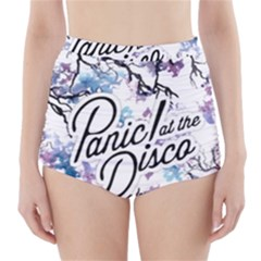 Panic! At The Disco High Waisted Bikini Bottoms