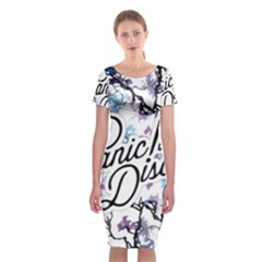 Panic! At The Disco Classic Short Sleeve Midi Dress