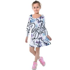 Panic! At The Disco Kids  Long Sleeve Velvet Dress