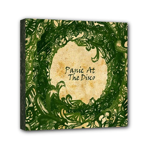 Panic At The Disco Mini Canvas 6  X 6