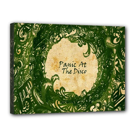 Panic At The Disco Canvas 16  X 12