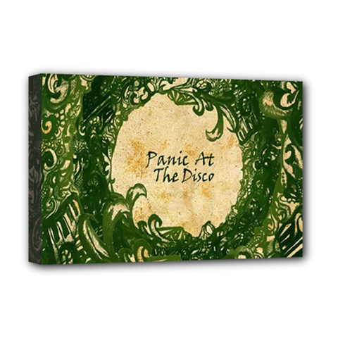 Panic At The Disco Deluxe Canvas 18  X 12