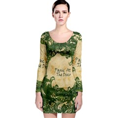 Panic At The Disco Long Sleeve Bodycon Dress