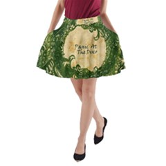 Panic At The Disco A Line Pocket Skirt