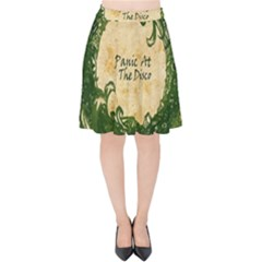 Panic At The Disco Velvet High Waist Skirt