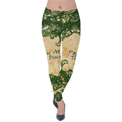 Panic At The Disco Velvet Leggings