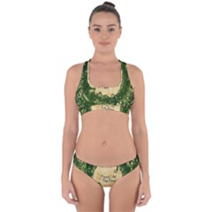 Panic At The Disco Cross Back Hipster Bikini Set