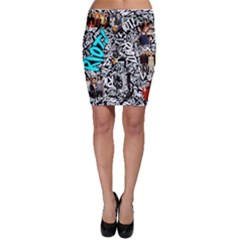 Panic! At The Disco College Bodycon Skirt