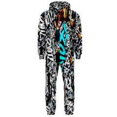 Panic! At The Disco College Hooded Jumpsuit (men)