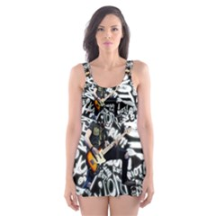 Panic! At The Disco College Skater Dress Swimsuit