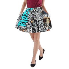 Panic! At The Disco College A Line Pocket Skirt