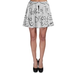 Panic! At The Disco Lyrics Skater Skirt