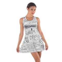 Panic! At The Disco Lyrics Cotton Racerback Dress