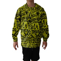 Panic! At The Disco Lyric Quotes Hooded Wind Breaker (kids)