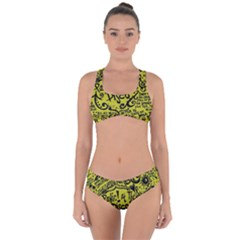 Panic! At The Disco Lyric Quotes Criss Cross Bikini Set
