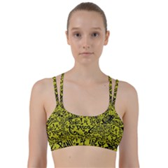 Panic! At The Disco Lyric Quotes Line Them Up Sports Bra