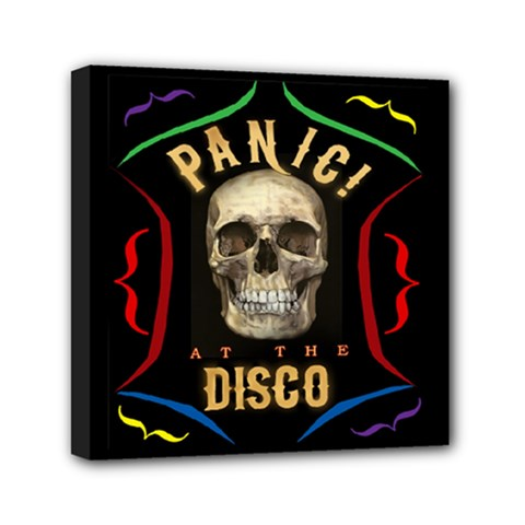 Panic At The Disco Poster Mini Canvas 6  X 6
