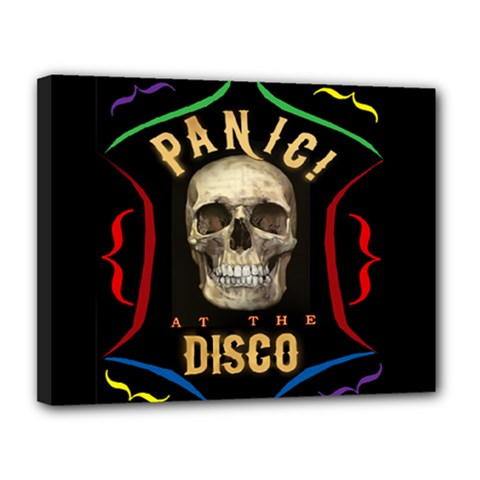Panic At The Disco Poster Canvas 14  X 11