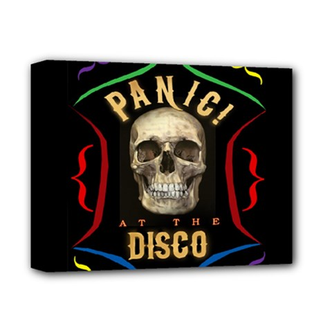 Panic At The Disco Poster Deluxe Canvas 14  X 11