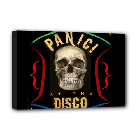 Panic At The Disco Poster Deluxe Canvas 18  X 12