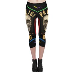 Panic At The Disco Poster Capri Leggings