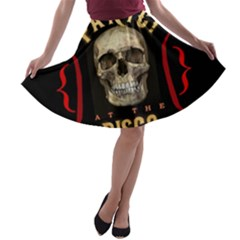 Panic At The Disco Poster A Line Skater Skirt
