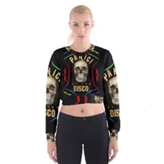 Panic At The Disco Poster Cropped Sweatshirt