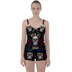 Panic At The Disco Poster Tie Front Two Piece Tankini