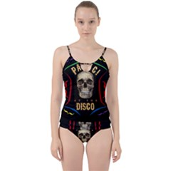 Panic At The Disco Poster Cut Out Top Tankini Set