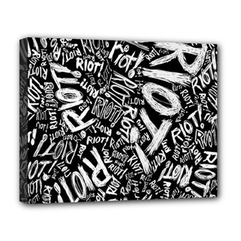 Panic At The Disco Lyric Quotes Retina Ready Deluxe Canvas 20  X 16